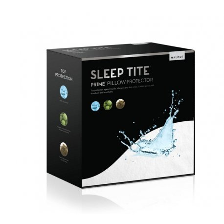 MALOUF SLEEP TITE SMOOTH QUEEN PILLOW PROTECTOR